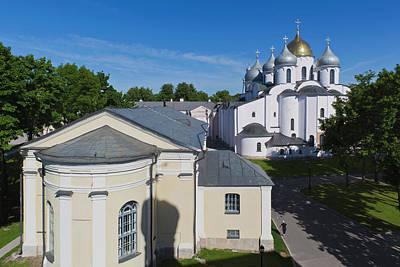Sofia Photograph - Russia, Novgorod Oblast, Veliky by Walter Bibikow