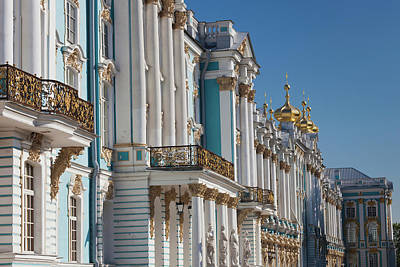 Russia, Saint Petersburg Art Print by Walter Bibikow