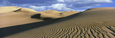 Great Sand Dunes Photograph - Sand Dunes In A Desert, Great Sand by Panoramic Images