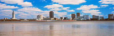 Louisiana Photograph - Skyscrapers At The Waterfront by Panoramic Images