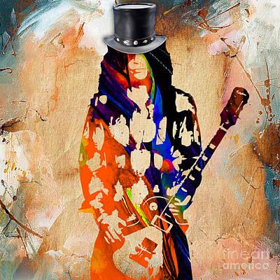 Slash Collection Art Print by Marvin Blaine