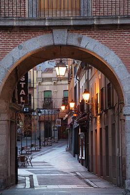 Chico Photograph - Spain, Castilla Y Leon Region, Avila by Walter Bibikow