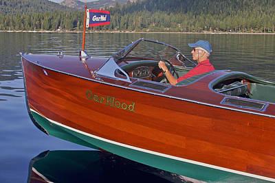 Photograph - Tahoe Concours D' Elegance by Steven Lapkin