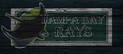 Baseball Photograph - Tampa Bay Rays by Joe Hamilton