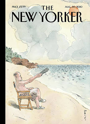 Tv Painting - New Yorker August 30th, 2010 by Barry Blitt