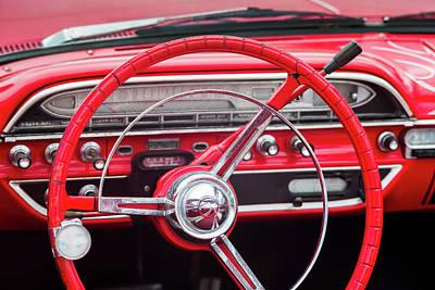 Antique Automobiles Photograph - Usa, Massachusetts, Cape Ann by Walter Bibikow