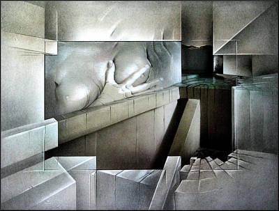 Mixed Media - #13 Wallnudecomp 2003 by Glenn Bautista
