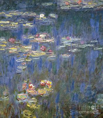 Water Lilies Art Print by Claude Monet