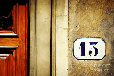 Photograph - 13 With Wooden Door by Valerie Reeves