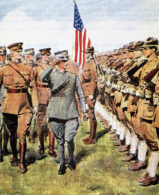 Colored Troops Photograph - World War I (1914-1918 by Prisma Archivo