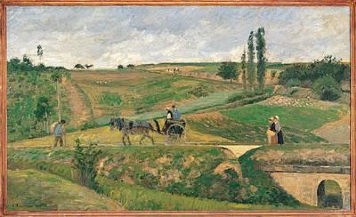 France, Ile De France, Paris, Muse Art Print