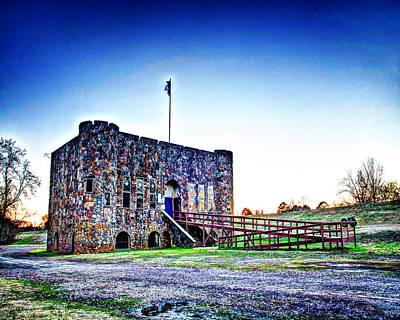 1302-4062 - American Legion Hut In Clarksville Ar Art Print by Randy Forrester