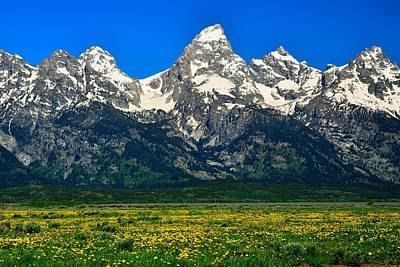 Photograph - Grand Teton by Walt Sterneman