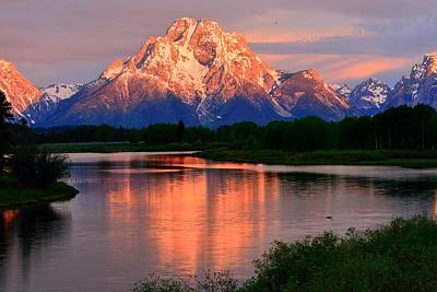Photograph - Oxbow Bend by Walt Sterneman