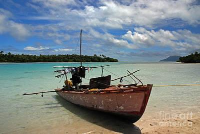 Tongan Photograph - 1310 South Pacific Idyll by Colin Munro