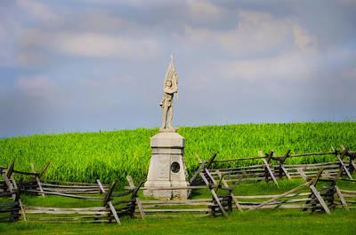 Volunteer Infantry Photograph - 132 Pennsylvania Volunteer Infantry - Antietam Maryland by Bill Cannon