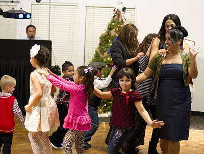 Photograph - Holiday Party by Nathan Rupert