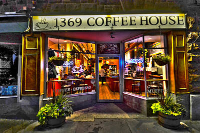 Photograph - 1369 Coffee House Cambridge Ma by Toby McGuire