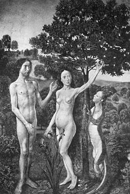 1470 Painting - Adam And Eve by Granger