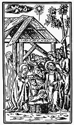 Adoration Of The Magi Art Print by Granger