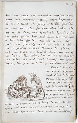 Alice's Adventures In Wonderland Print by British Library
