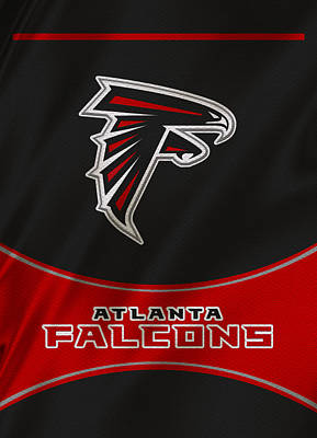Atlanta Falcons Uniform Art Print