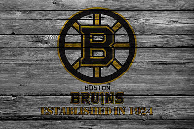 Skate Photograph - Boston Bruins by Joe Hamilton
