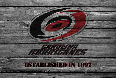 Carolina Hurricanes Print by Joe Hamilton