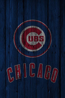 Galaxy Photograph - Chicago Cubs by Joe Hamilton