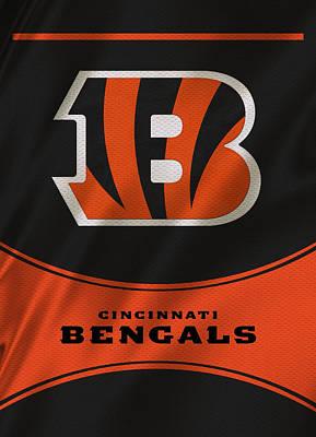 Cincinnati Bengals Uniform Art Print