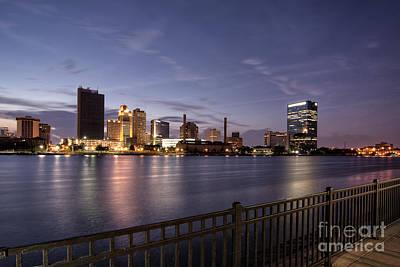 Granger - City Lights Skyline by Michael Shake
