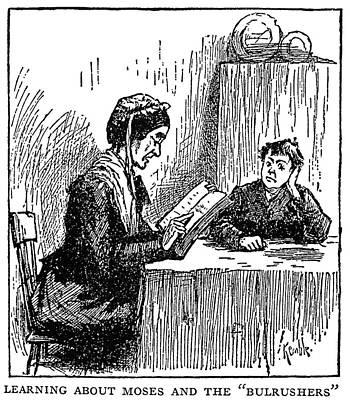 Douglass Drawing - Clemens Huck Finn by Granger