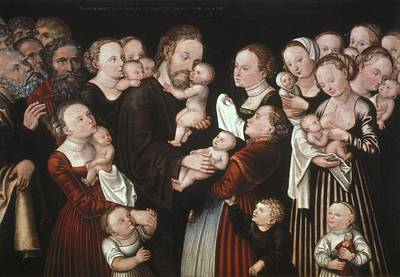 Cranach, Lucas, The Elder 1472-1553 Art Print by Everett