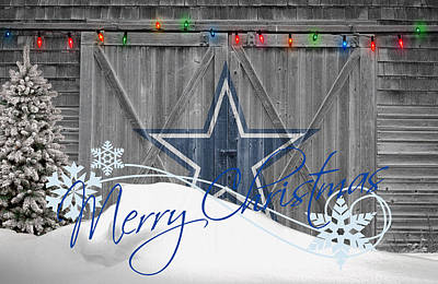 Dallas Photograph - Dallas Cowboys by Joe Hamilton