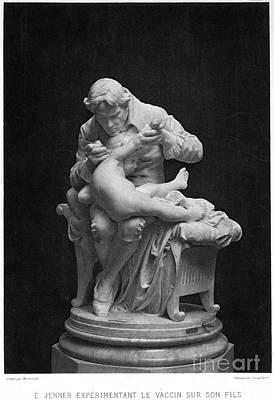 Child Boy Nude Photograph - Edward Jenner (1749-1823) by Granger