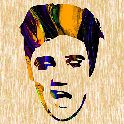 Elvis Presley Mixed Media - Elvis by Marvin Blaine