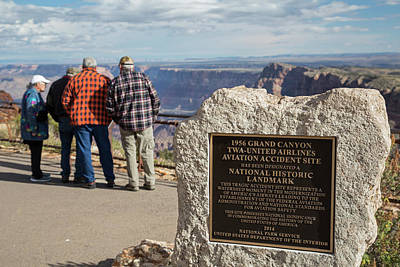 United Airline Photograph - Grand Canyon by Jim West