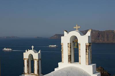 Greece, Santorini, Thira, Oia Art Print by Jaynes Gallery