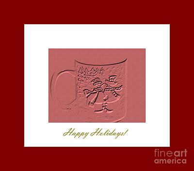 Digital Art - Happy Holidays by Oksana Semenchenko
