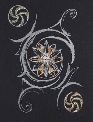 Manipura Drawing - 14 by Jessica McLellan