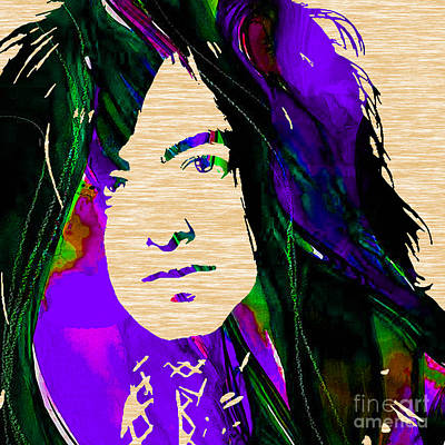 Rock Art Mixed Media - Jimmy Page Collection by Marvin Blaine