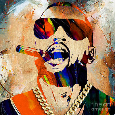 Collector Mixed Media - Kanye West Collection by Marvin Blaine