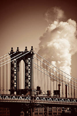Photograph - Manhattan by Songquan Deng