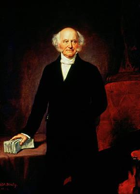 Democrat Painting - Martin Van Buren (1782-1862) by Granger