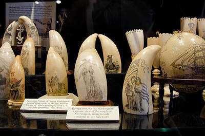 Scrimshaw Photograph - Massachusetts, New Bedford by Cindy Miller Hopkins