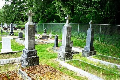 Photograph - 8 - Wilkeson Catholic Cemetery by Sadie Reneau
