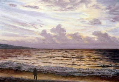 Pastel - Bali Sunset - I by Nancy Yang