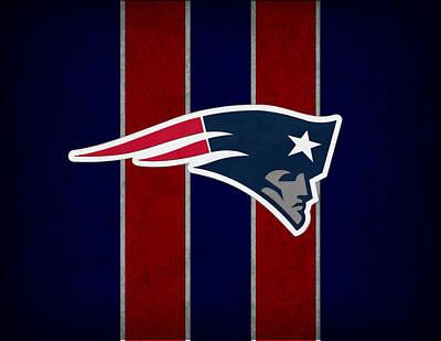 Nfl Photograph - New England Patriots by Joe Hamilton