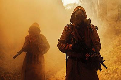 Photograph - Nuclear Post-apocalypse Survivors by Oleg Zabielin