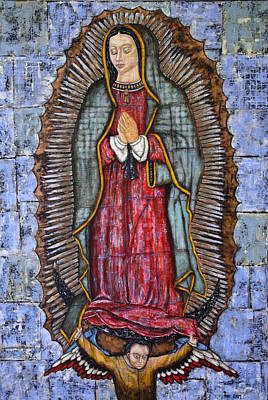 Rain Ririn Painting - Our Lady Of Guadalupe by Rain Ririn